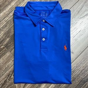 Blue Polo Ralph Lauren Performance shirt